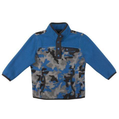 Free Country Boy's Snap Fleece Pullover