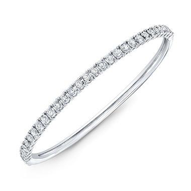 1 Ct T W Diamond Bracelet In 14k White Gold Sam S Club