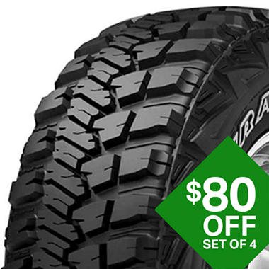 Goodyear Wrangler MT/R with Kevlar - LT315/75R16/D 121Q   Tire