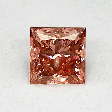1.98 ct. Princess Cut Lab-Grown Diamond (Fancy Vivid Pink, VVS2)