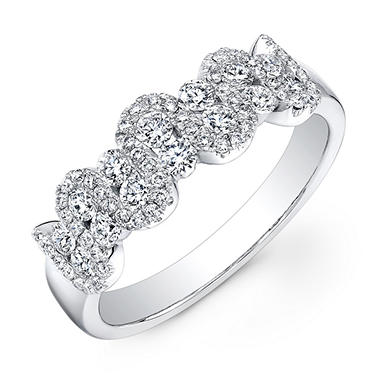 0.69 ct. t.w. Diamond Band in 14K White Gold (G-H, SI1-SI2)