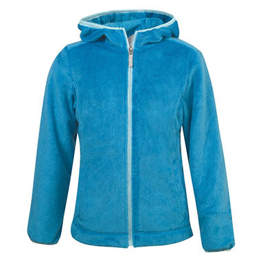 Girls Butter Pile Fleece Jacket, Choose Your Color