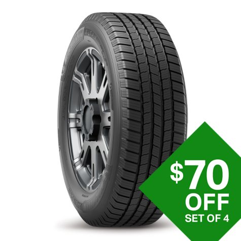 Michelin X LT A/S - 265/70R18 116T Tire