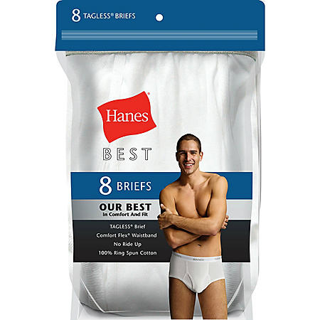 Hanes Best 8-Pack Brief (Assorted Colors)