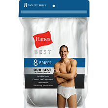 Hanes Best 8-Pack Brief