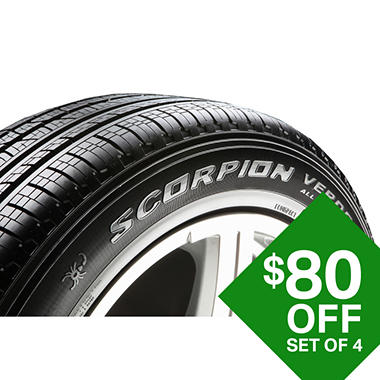 Pirelli Scorpion Verde AS RF - 295/45ZR20 110Y Tire