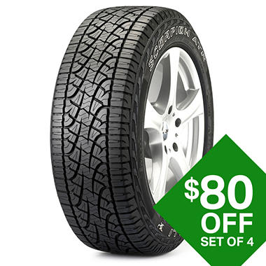 Pirelli Scorpion Atr P275 55r20 111s Tire Sam S Club
