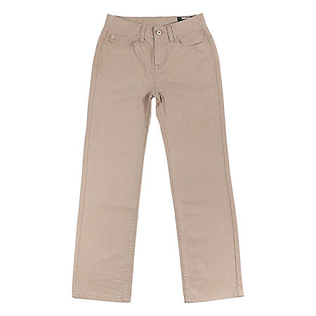 Boy's Designer Brand Straight Fit Chino