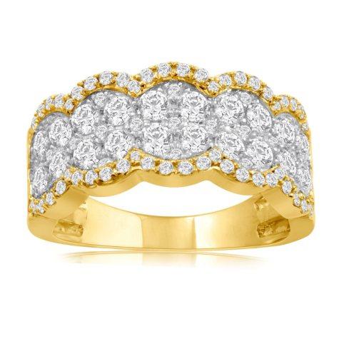 1.50 CT. T.W. Diamond Fashion Band in 14K Yellow Gold
