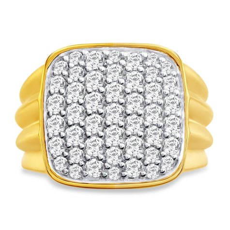 2.00 CT. T.W. Men's Diamond Fashion Ring in 14K Gold
