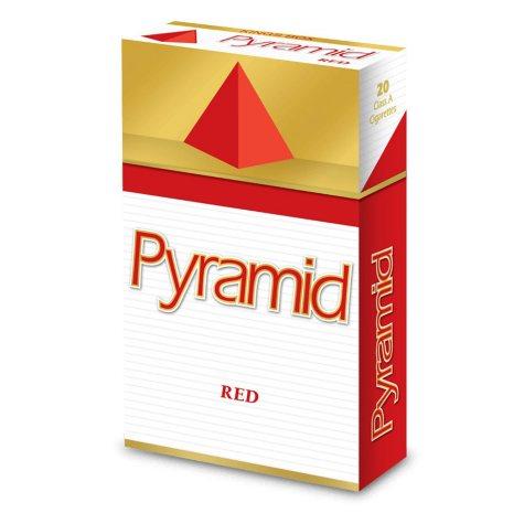 Pyramid Red Kings Box 1 Carton