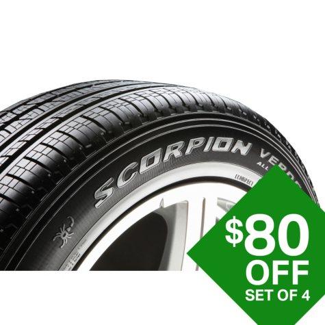 Pirelli Scorpion Verde A/S - 235/60R18/XL 107V  Tire