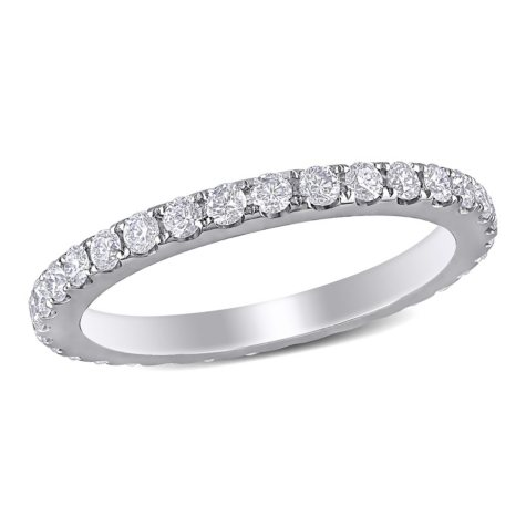 1 ct. t.w. Diamond Eternity Anniversary Ring in 14K White Gold