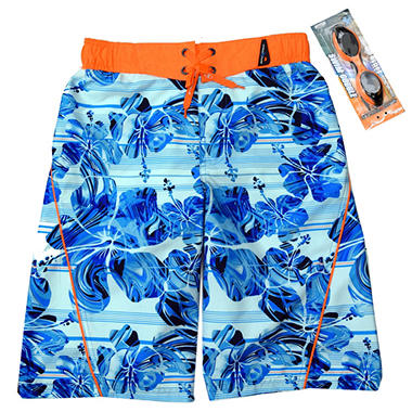 Boys' ZeroXposur Swim Trunk