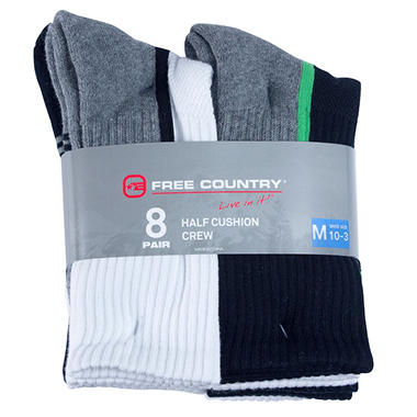 Free Country Boys' Crew Sock