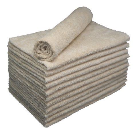Bleachsafe® Salon Hand Towels - Tan - 24 pk.