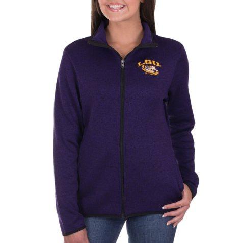 LSU Tigers, NCAA Women's Athletic Fitness Jacket