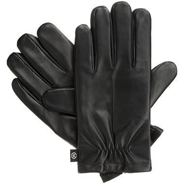 Isotoner smarTouch Men's Leather Gloves