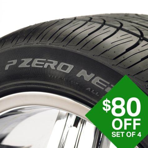 Pirelli PZero Nero A/S - 255/45R19/XL 104H Tire