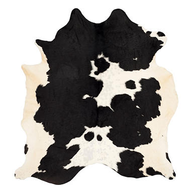 genuine cowhide rug assorted colors