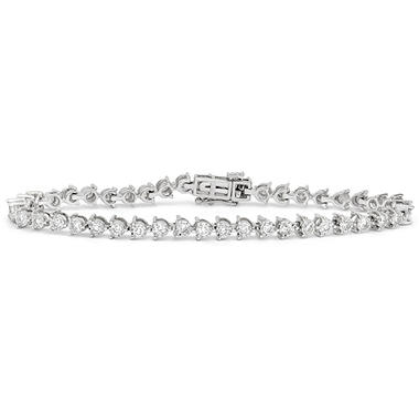 1 96 Ct T W Diamond Miracle Plate Bracelet In 14k White Gold