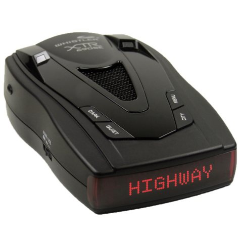 Whistler XTR-690SES Laser-Radar Detector with IntelliCord and Non-Skid Dash Pad