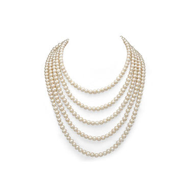 6-7 mm Freshwater Pearl 100-inch Endless Neckalce (Assorted Colors)