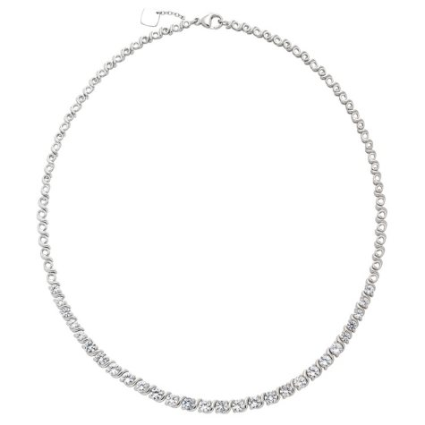 Created White Sapphire Necklace