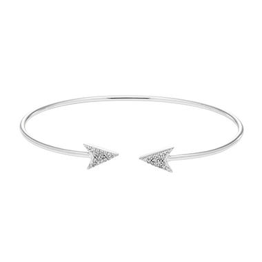 sterling silver dainty gift on special great deals delicate bracelet simple shop charm cute necklace etsy arrow