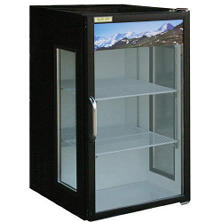 BlueAir 1-Door Swing Glass Merchandiser - 7 cu. ft.