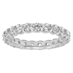 2.00 ct. t.w. Diamond Eternity Band in 14K White Gold