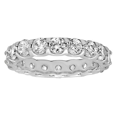 3.00 ct. t.w. Diamond Eternity Band in 14K White Gold