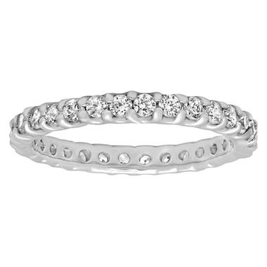 1.00 ct. t.w Diamond Eternity Band in 14K White Gold