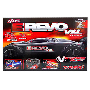 1/16 Revo VXL Read To Race Car - Blue