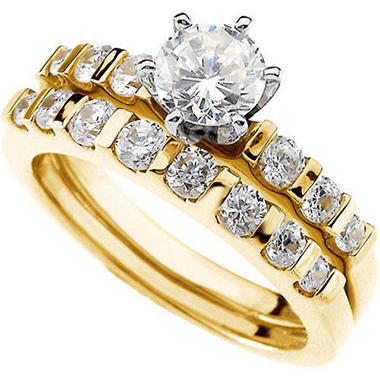 1.47 ct. t.w. Diamond Yellow Gold Ring Set (I, I1)