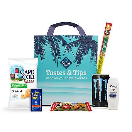 Tastes & Tips Sampler Bag