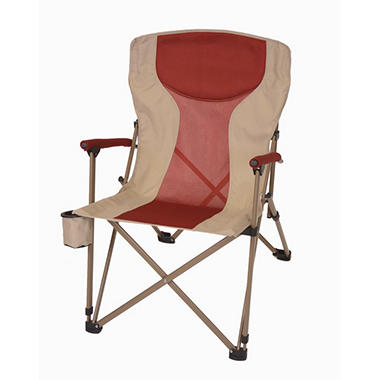 Oversize, Folding Arm Chair - Red