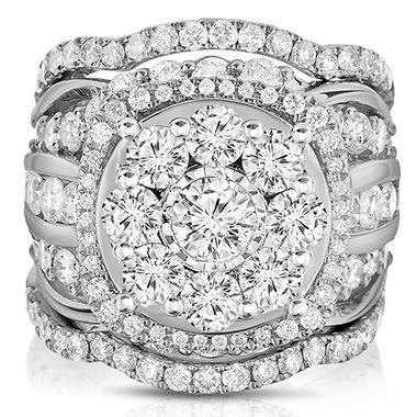 Princess Quad Diamond Ring