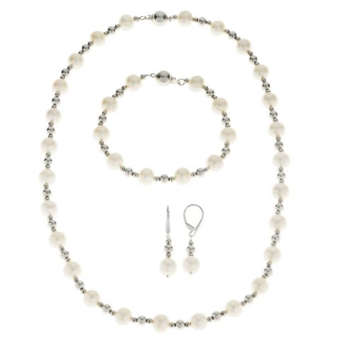 Cultured Freshwater Pearl 3-Piece Set