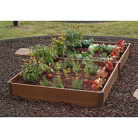 """Member's Mark 42"""" x 84"""" x 8"""" Raised Bed Garden Kit, by Greenland Gardener"""