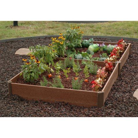"""Member's Mark Raised Bed Garden Kit, 42"""" x 84"""" x 8"""", by Greenland Gardener"""