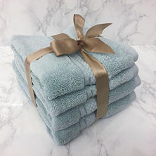 Luxury Collection 4-Piece Hand Towel and Washcloth Set (Assorted Colors)