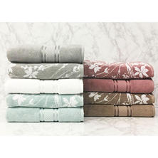 Luxury Collection Bath Towel (Assorted Patterns)