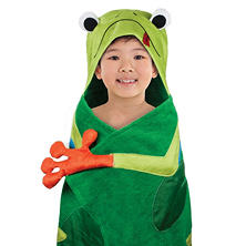 Kids' Hooded Bath Towel