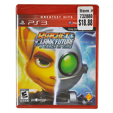 PS3 GREATEST HIT RATCHET&CLANK FUTURE