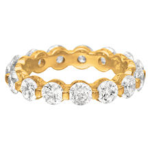 Prong-Set Diamond Eternity Band in 14K Yellow Gold - 4mm (I, SI2)