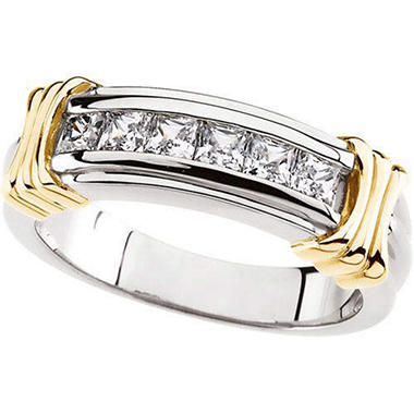 0.99 ct. t.w. Gents Diamond Band  (I, I1)