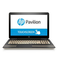 "HP Pavilion Touchscreen HD 15.6""Notebook, Intel Core i5-6200U DC Processor, 8GB Memory, 1TB Hard Drive, Windows 10, Available in:  Modern Gold 15-au067cl, Sporty Purple 15-au097cl , Dragonfly Blue 15-au087cl"