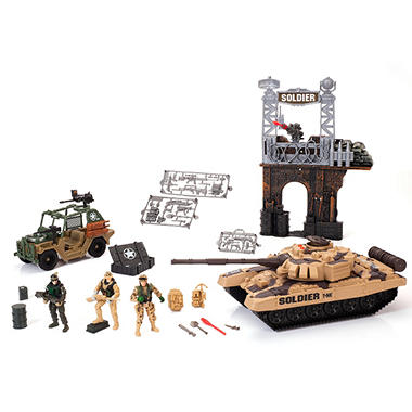 Soldier Force Action Playset - 25 pcs.