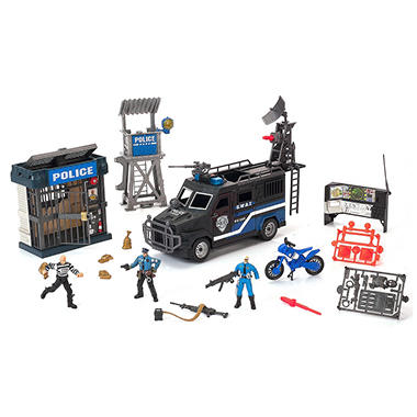 Police Action Playset - 22 pcs.